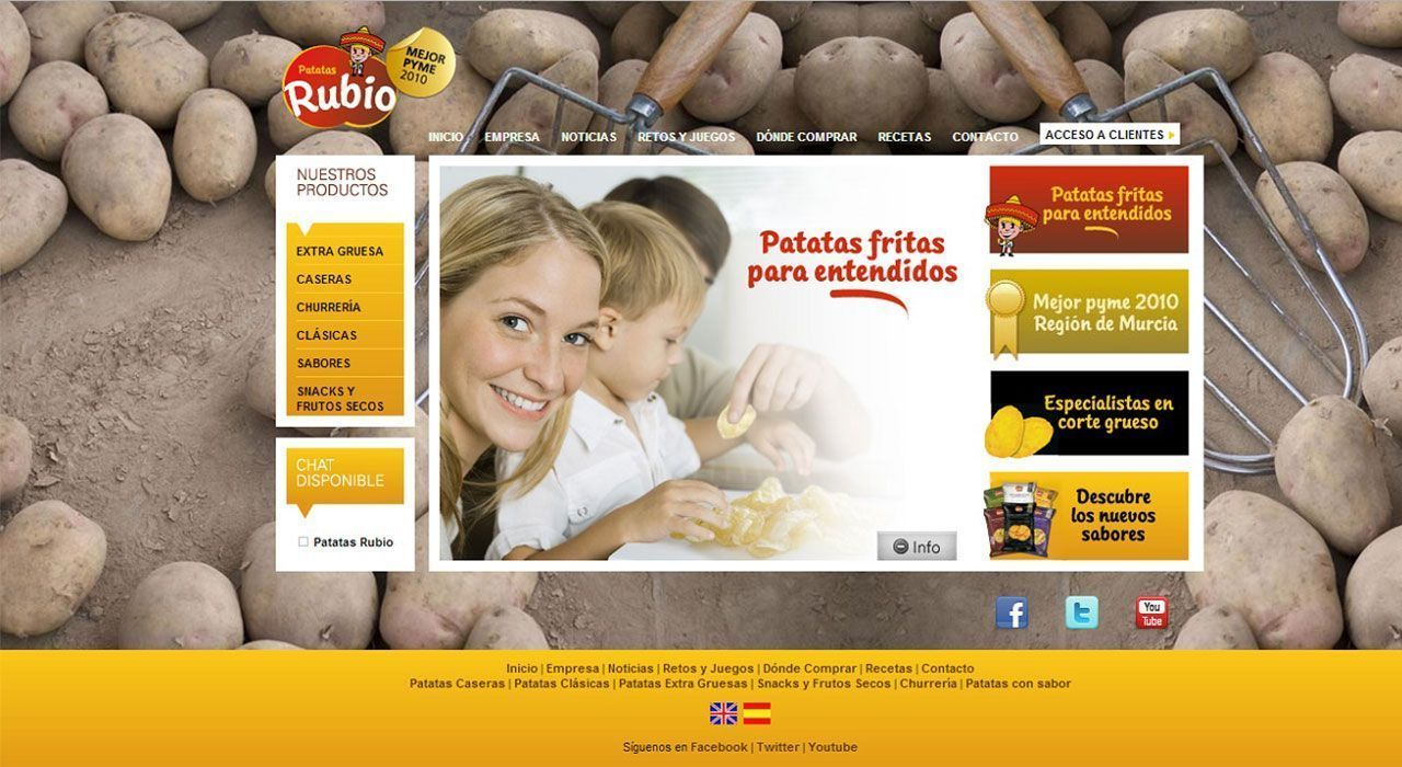 Patatas rubio