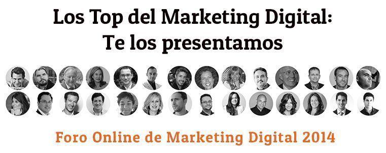 Top del marketing digital