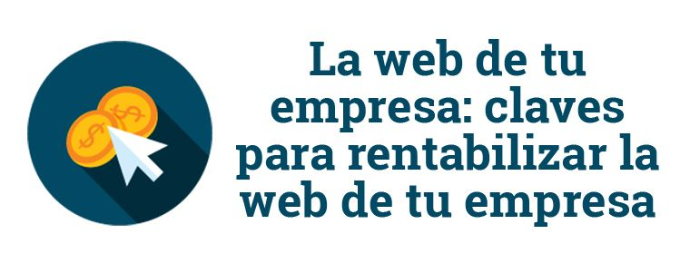 rentabilizar la web