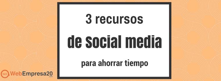 recursos social media