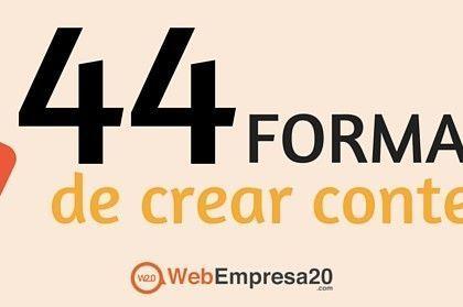 44 ideas para generar contenido en 2016