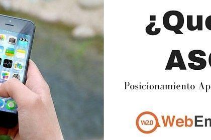 ¿Qué es ASO? Posicionamiento para aplicaciones móviles