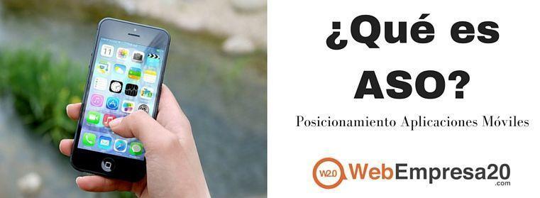 ASO: ¿qué es? Posicionamiento para aplicaciones móviles.