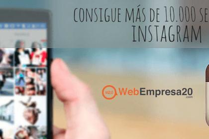 Consigue más de 10.000 seguidores en Instagram