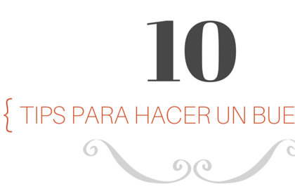 10 tips para hacer un buen blog